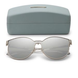 Karen walker bazaar cats eye sunglasses NWB